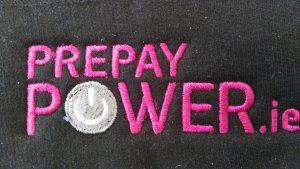 Embroidered Logo for Power.ie